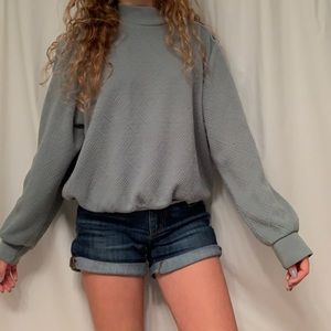 Mint green vintage sweater